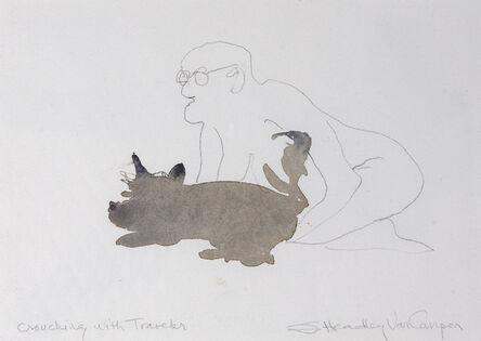 Susan Headley Van Campen, 'Crouching with Traveler'