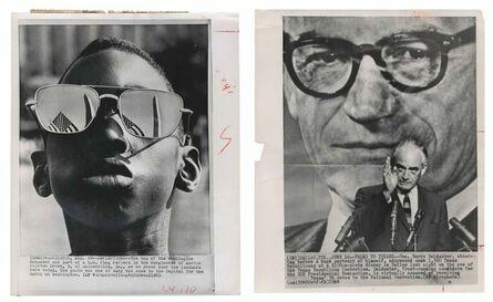 Murray Moss, 'TQ 57/58: U.S. Flag Reflection/Barry Goldwater', 1963/1964