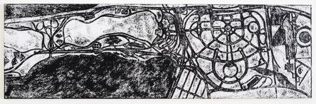 Matt Mullican, 'Untitled (World's fair site)', 1995