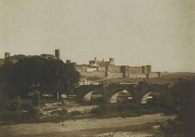 Le Gray and Mestral, 'Vue generale des remparts de Carcassonne, prise de l'ouest, Carcassonne (Aude)', 1851