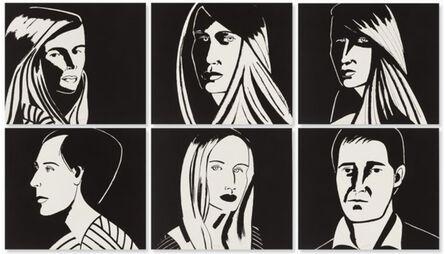 Alex Katz, 'Six Portraits (Aquatint)', 2013