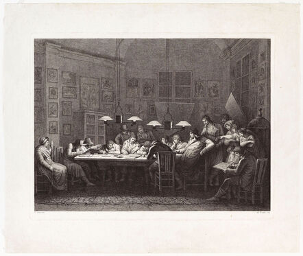 Tomba, 'Francesco Rosaspina's Drawing School', 1811