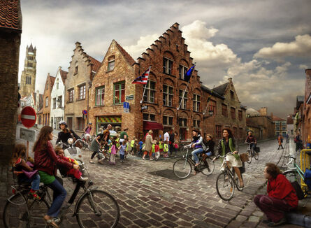 Marcelo Tinoco, 'Rush In Bruges(from the series Fotorama)', 2009
