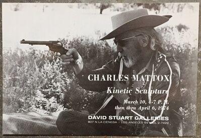 Charles Mattox, 'Vintage Exhibition Mailer', 1974