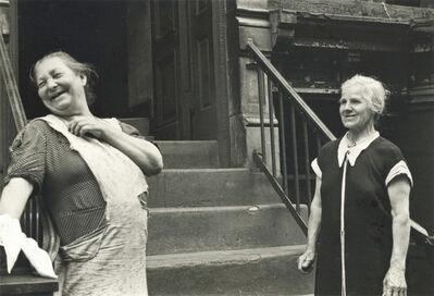 Helen Levitt, 'New York (Two Women Laughing)', ca. 1945