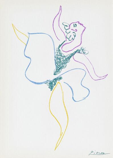 Pablo Picasso, 'Danseuse, from Le Ballet (Bloch 767)', 1954