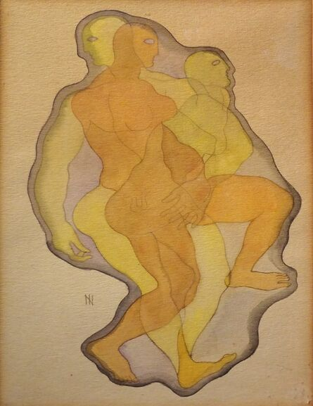 Ismael Nery, 'Movimentação Interna (Internal Movimentation)', 1931