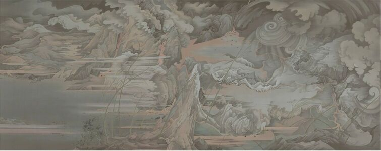 Liang Hao 郝量, 'Day and Night (panel II)', 2017-2018