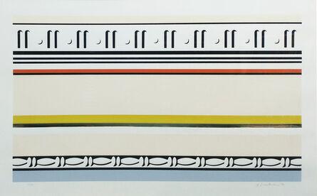 Roy Lichtenstein, 'ENTABLATURE VIII', 1976