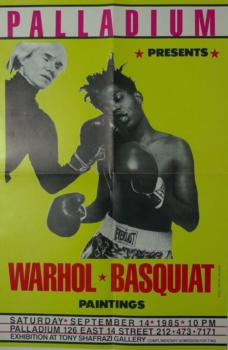 Jean-Michel Basquiat, 'PalladiumPresents Warhol Basquiat Paintings', 1985