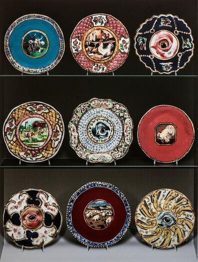 Jean Lowe, 'Auction Lots (Fine Americana: Plates)', 2013