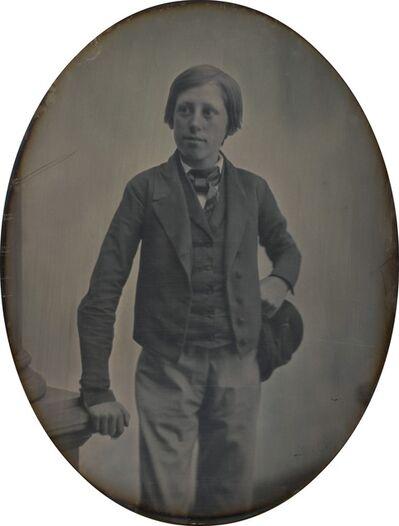 Southworth & Hawes, 'Boy with Cap', 1853-1855