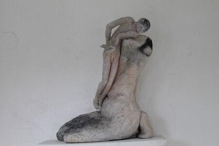 Grace Bakst Wapner, 'And Hugged the Narrow Ledge', ca. 2000