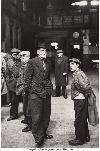 Thurston Hopkins, 'From Round the Pond, Kensington Gardens and Hanging Around for a Job (two photographs)', circa 1950