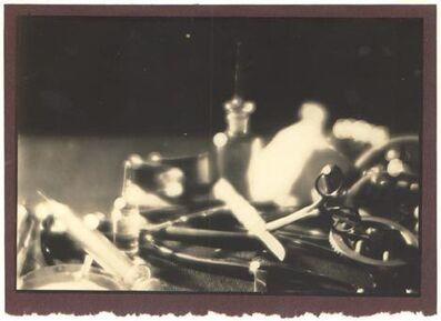 Nakano Shashin Kan, 'Instruments at Kyoto Medical University', 1933