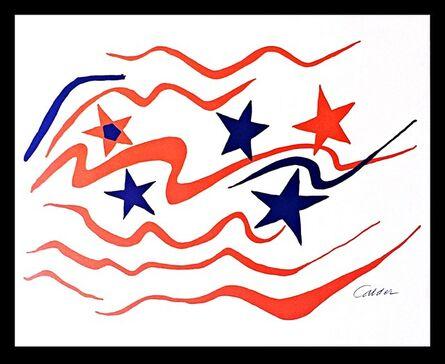 Alexander Calder, 'With Flying Colors', 1976