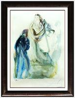 Salvador Dalí, 'Salvador Dali Original Color Etching Paradise Canto Hand Signed Divine Comedy', 1963