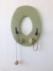 Anna Sew Hoy, 'Utopic Void (Lichen with Earbuds)', 2018