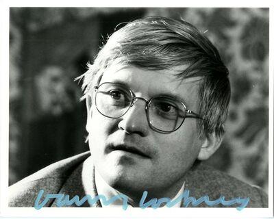 David Hockney, 'Hand Signed Photograph', ca. 1981