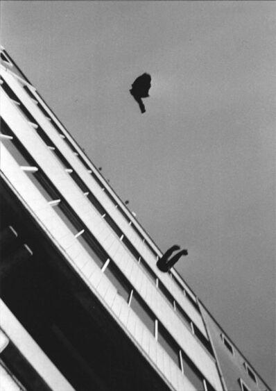 Minoru Hirata, 'Hi Red Center's 'Dropping Event', at Ikenobō Kaikan', 1964 / 2014