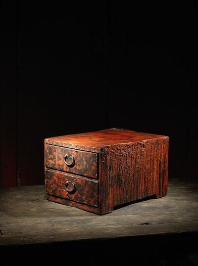 Unknown Japanese, 'A lacquer smith work table, hikidashi tsuki joban', Japan: 20th century
