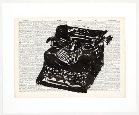 William Kentridge, 'Universal Archive (Ref. 63)', 2012