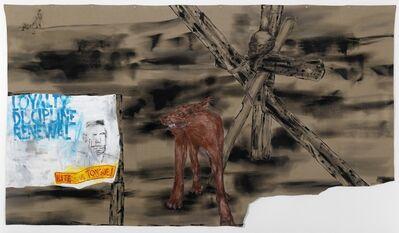 Leon Golub, 'Bite Your Tongue', 2001
