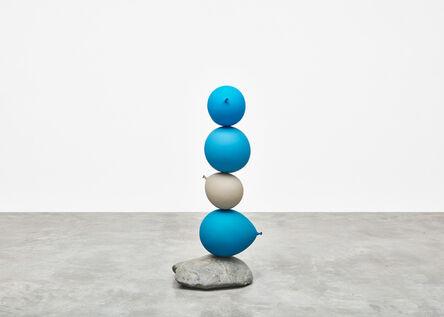 Gimhongsok, 'Untitled (Short People) Blue, Blue, Grey, Blue', 2018