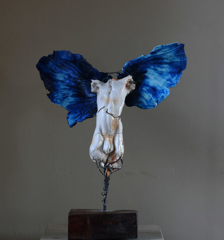 Carl Dahl, 'White angel Blue wings', 2020