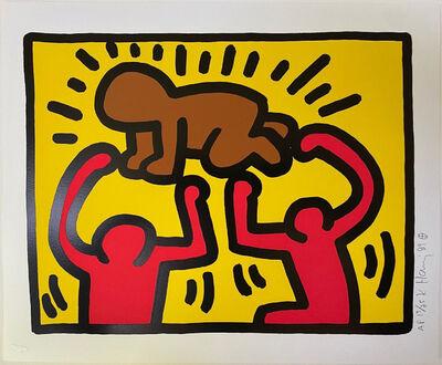 Keith Haring, 'Pop Shop IV (B)', 1989