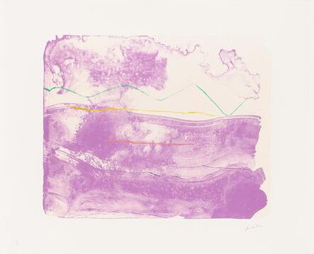 Helen Frankenthaler, 'Lilac Sweep', ca. 2003-06