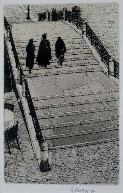 Wilfred Fairclough, 'Zattere Bridge, Venice', 1991