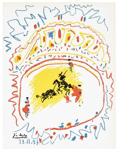 Pablo Picasso, 'La Petite Corrida  (Bloch 839; Mourlot 302)', 1957
