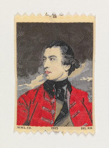 Warner-Artex, 'General John Burgoyne (c. 1766) by Sir Joshua Reynolds (1723-1792)', 1965