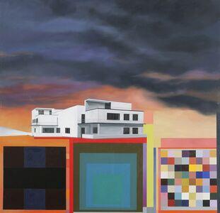 Julie Langsam, 'Gropius Landscape (Master's House Kandinsky / Klee II)', 2015