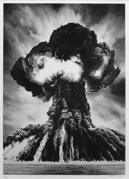 Robert Longo, 'RUSSIAN BOMB (SEMIPALATINSK)', 2011