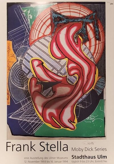 Frank Stella, 'Moby Dick Series Poster', 1993