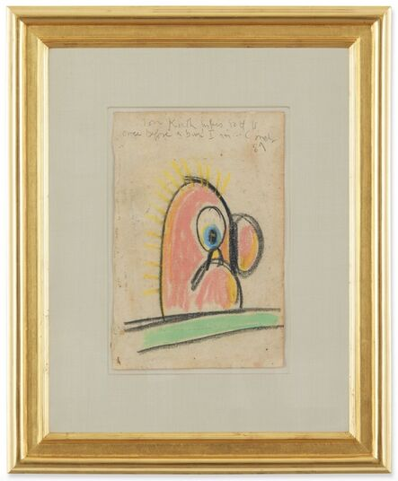 George Condo, 'Untitled (Keith Haring)', 1989