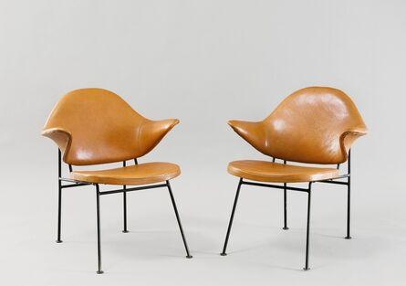 Michael Thonet, 'Pair of armchairs', ca. 1955