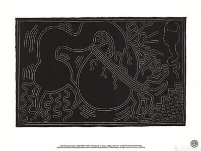 Keith Haring, 'Untitled (1988)', 1993
