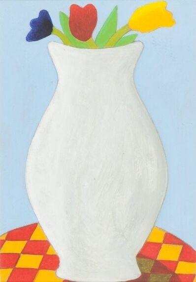 Enzo Forese, 'Vaso di fiori', 2001