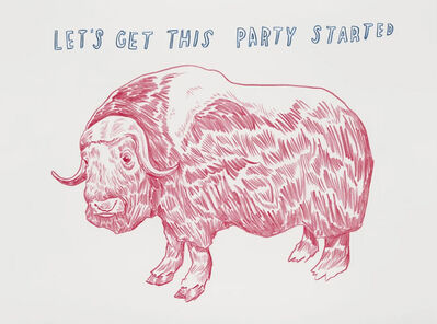 Dave Eggers, 'LIVE AUCTION: Untitled (Let's Get This Party Started)', 2015