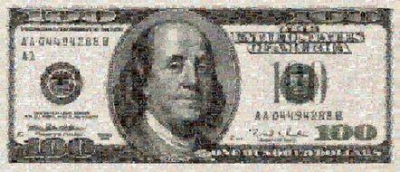 Robert Silvers, 'One Hundred Dollar Bill'