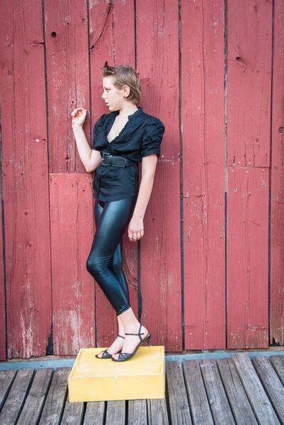 Lindsay Morris, 'Red Barn 4', 2010