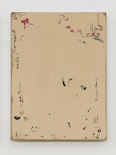 Zin Taylor, 'Thoughts collected on the surface of a panel (a motif of pattern related to the psych-naturalism of 2004)', 2013
