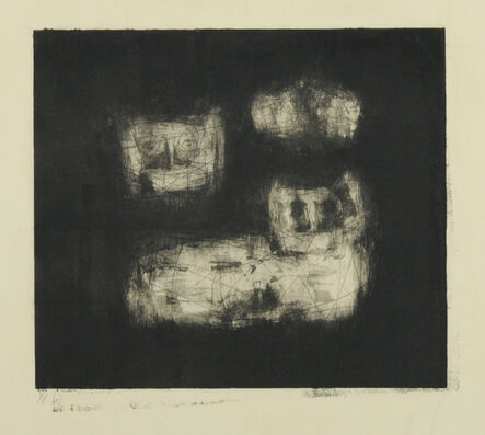 Louise Nevelson, 'Magnificent Jungle Cats', 1953-1955