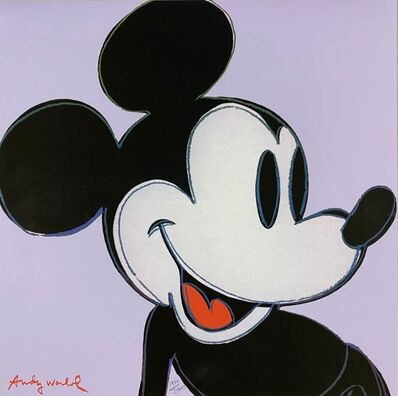 Andy Warhol, 'Mickey Mouse (Violet)', 1986