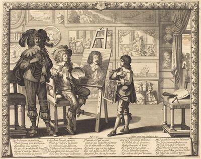 Abraham Bosse, 'Le noble peintre', 1642