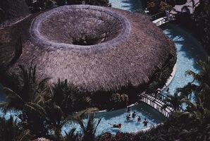 Slim Aarons, 'Hilton Pool Bar', 1966