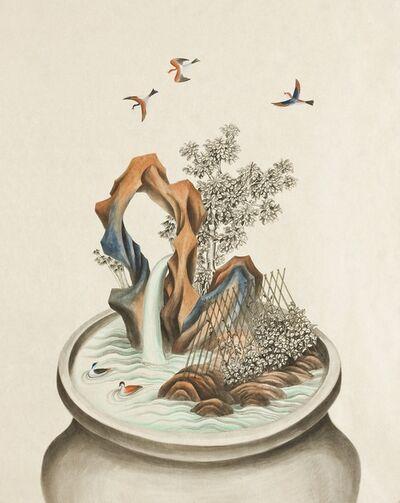 Hyun Kyung Lim, 'Growing Vase-2', 2012